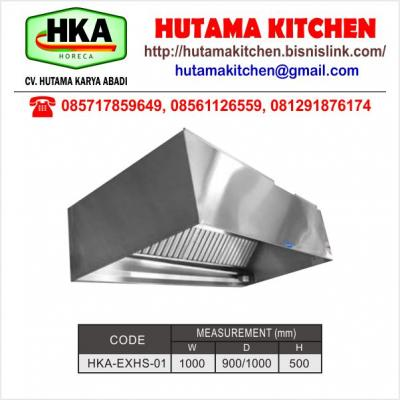 HUTAMA KITCHEN MENJUAL WALL TYPE EXHAUST HOOD